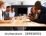 group of young executives... | Shutterstock . vector #289838501
