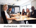 group of young executives... | Shutterstock . vector #289838531