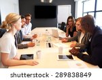 group of young executives...   Shutterstock . vector #289838849