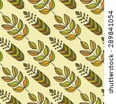 ethnic seamless pattern with... | Shutterstock .eps vector #289841054