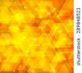 orange abstract techno... | Shutterstock . vector #289848521