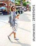 summer sunny lifestyle fashion... | Shutterstock . vector #289854041