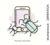 Vector Illustration. Virus...