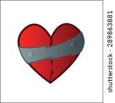 heart symbol | Shutterstock .eps vector #289863881