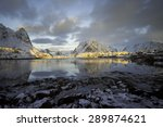 Cold Sunrise Over Reine ...