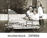 Vintage Photo Of A Soapbox...