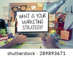 marketing strategy concept  ... | Shutterstock . vector #289893671