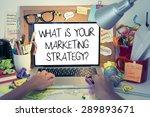 marketing strategy concept  ... | Shutterstock . vector #289893671