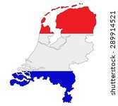 map of state netherlands... | Shutterstock . vector #289914521