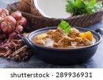 beef massaman curry  thai... | Shutterstock . vector #289936931