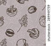 vector seamless pattern.... | Shutterstock .eps vector #289949759