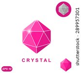 brilliant jewel isometric... | Shutterstock .eps vector #289957301