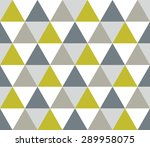 Triangular Background. Seamles...