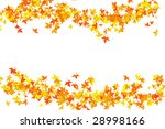 leaf illustration on white... | Shutterstock . vector #28998166
