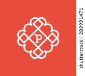 flourishes calligraphic... | Shutterstock .eps vector #289991471