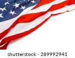 us flag with place for your... | Shutterstock . vector #289992941