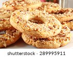 shortbread cookies ring with... | Shutterstock . vector #289995911