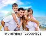 beach  holidays  fun. | Shutterstock . vector #290004821