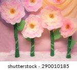Cute Huge Tissue Paper Flowers...