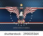 america eagle vector | Shutterstock .eps vector #290035364