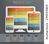 responsive info graphic design  ...
