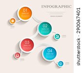 business infographic template... | Shutterstock .eps vector #290067401