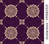 seamless oriental pattern. | Shutterstock .eps vector #290081525