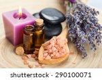lavender  aromatherapy oil ...   Shutterstock . vector #290100071