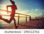 healthy lifestyle sports woman... | Shutterstock . vector #290112761