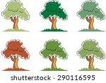 vector tree | Shutterstock .eps vector #290116595