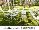 wedding decorations with... | Shutterstock . vector #290124029