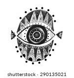 eye  | Shutterstock . vector #290135021