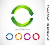 vector company logo icon...   Shutterstock .eps vector #290139911
