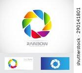 vector company logo icon... | Shutterstock .eps vector #290141801