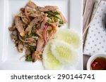 Spicy Minced Pork Salad Or Tha...