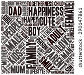 family info text graphics and... | Shutterstock .eps vector #290147861