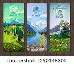best active summer vacation... | Shutterstock .eps vector #290148305