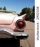 classic pink american car