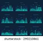 set of indian cities skylines....