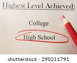 education level survey or job... | Shutterstock . vector #290211791