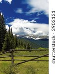 rustic mountain landscape in... | Shutterstock . vector #2902121
