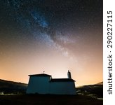 Milky Way Over Little Chapel I...