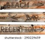 vector wooden boards  wood... | Shutterstock .eps vector #290229659
