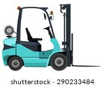 green loader on a white... | Shutterstock . vector #290233484