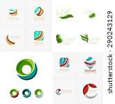 abstract company logo mega...   Shutterstock . vector #290243129