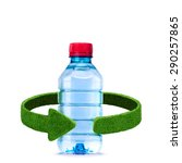 Bottle Of Water Recycling...