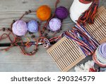 Tools And Thread For Weaving O...
