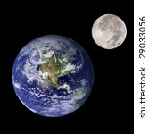 Earth And Moon Like Mother And...