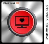 heart. icon. vector design   Shutterstock .eps vector #290337371