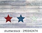 fourth of july patriotic stars... | Shutterstock . vector #290342474
